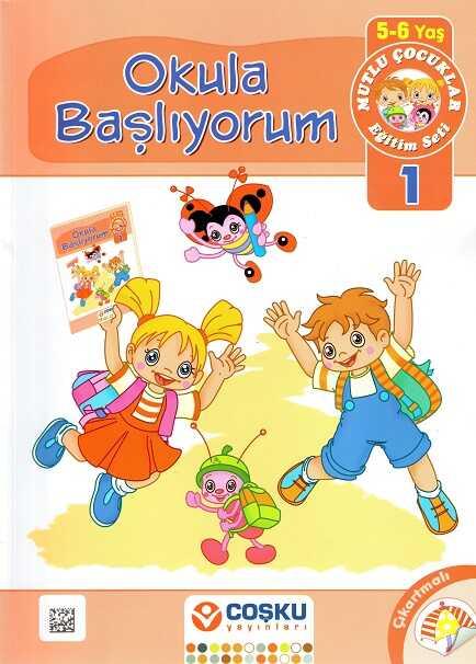 Coşku Yayınları - Mutlu Çocuklar Eğitim Seti (5-6 Yaş)