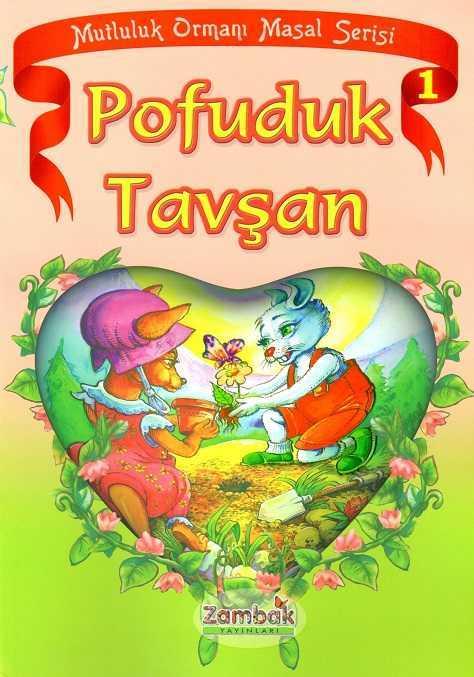 Zambak Yayınları - Mutluluk Ormanı Masal Serisi (6 Kitap)-Zambak