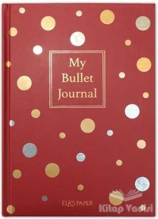 Ela's Paper - My Bullet Journal Defter (Confetti Kırmızı)