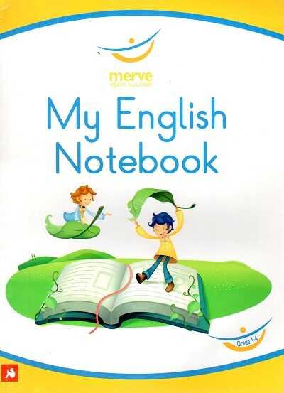 - My Englısh Notebook (1-2-3Ve4.Sınıf) Merve Eğitim Kurumları Logolu