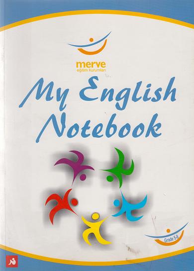 - My Englısh Notebook (5-6-7Ve8.Sınıf) Merve Eğitim Kurumları Logolu