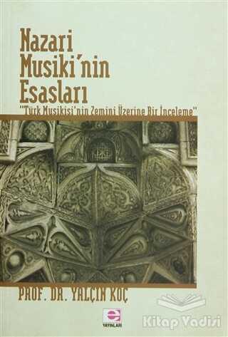 E Yayınları - Nazari Musiki'nin Esasları