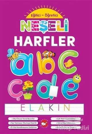 Beyaz Balina Yayınları - Neşeli Harfler - Eğitici Öğretici