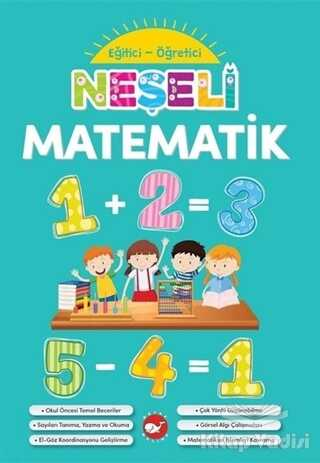 Beyaz Balina Yayınları - Neşeli Matematik - Eğitici Öğretici