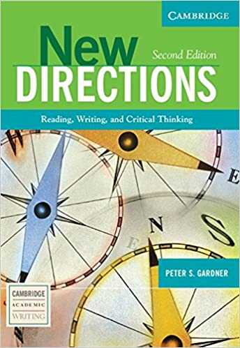 Cambridge University Press - New Directions : Reading, Writing, and Critical Thinking