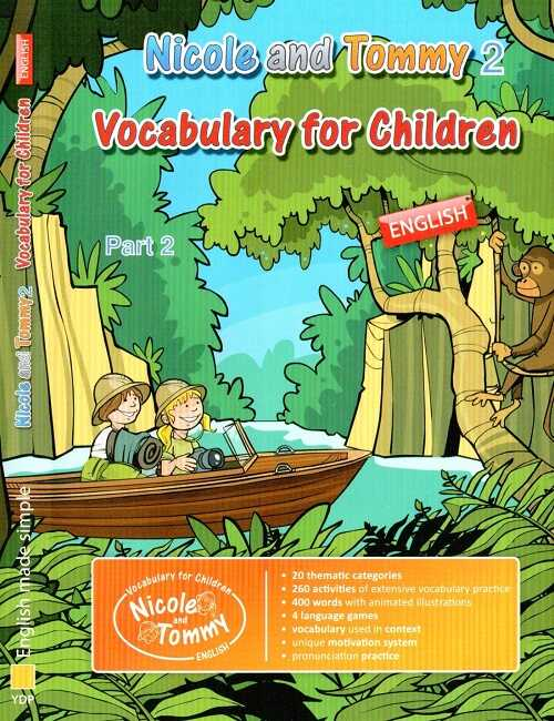Ataklı - Nicole and Tommy 2 Vocabulary for Children