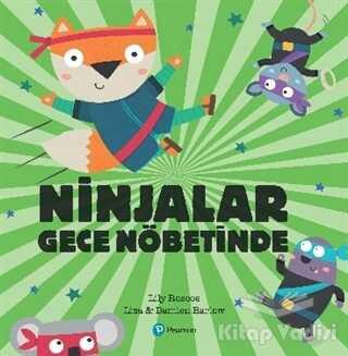 Pearson Çocuk Kitapları - Ninjalar Gece Nöbetinde