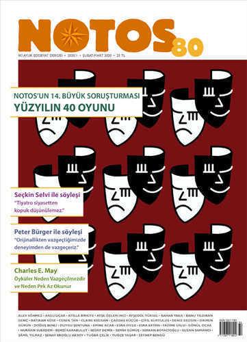 Notos Kitap - Notos Öykü Dergisi Sayı: 80 Şubat-Mart 2020