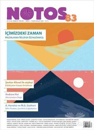 Notos Öykü Dergisi - Notos Öykü Dergisi Sayı: 83 Kasım - Aralık 2020