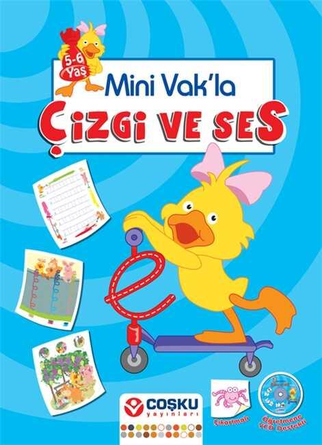 Coşku Yayınları - Mini Vak'la Çizgi ve Ses