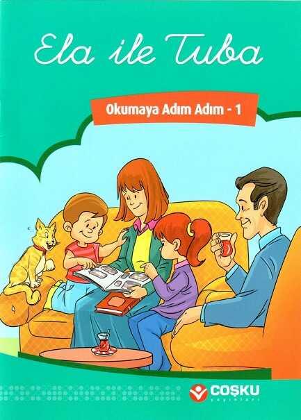 Coşku Yayınları - Okumaya Adım Adım Serisi (8 Kitap)
