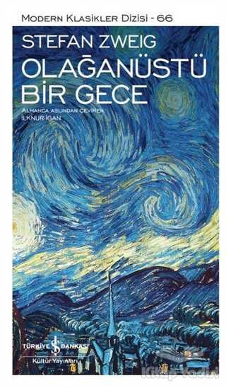 İş Bankası Kültür Yayınları - Olağanüstü Bir Gece (Şömizli)