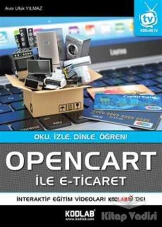 Kodlab Yayın Dağıtım - Opencart İle E-Ticaret