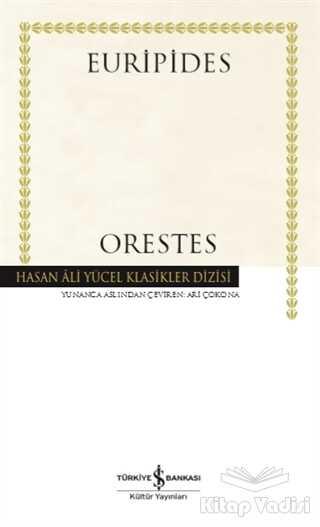 İş Bankası Kültür Yayınları - Orestes (Ciltli)