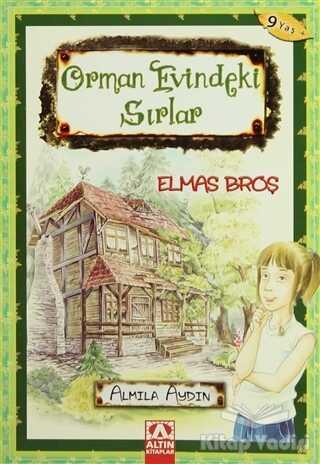 Altın Kitaplar - Orman Evindeki Sırlar Elmas Broş