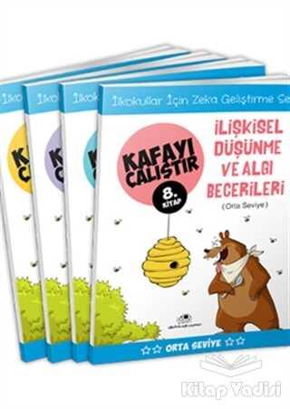 Uğurböceği Yayınları - Orta Seviye - Kafayı Çalıştır (4 Kitap Takım)