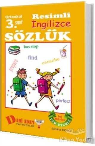 Dahi Adam Yayıncılık - Ortaokul 3. Sınıf Resimli İngilizce Sözlük