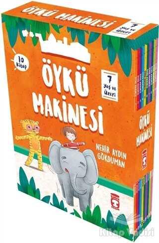 Timaş Çocuk - İlk Çocukluk - Öykü Makinesi Seti (10 Kitap Takım)