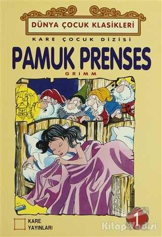 Kare Yayınları - Okuma Kitapları - Pamuk Prenses