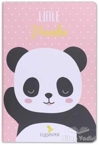 Ela's Paper - Panda Little Pembe Defter