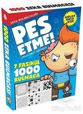 Uğurböceği Yayınları - Pes Etme! - Zeka Bulmacaları