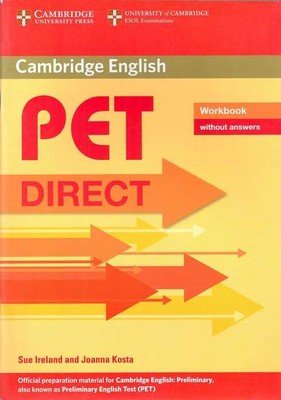 Cambridge University Press - PET Direct Workbook without answers