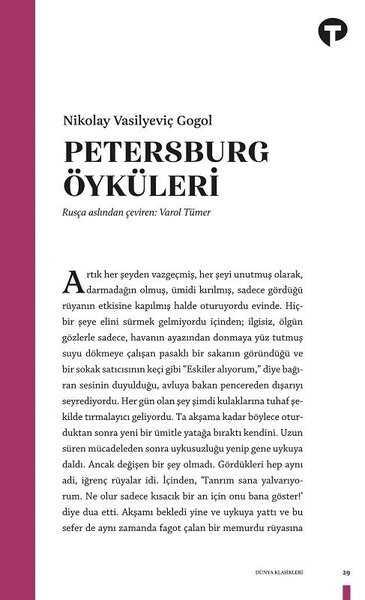 Turkuvaz Kitap - Petersburg Öyküleri
