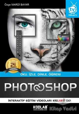Kodlab Yayın Dağıtım - Photoshop CC (Renkli Özel Baskı)