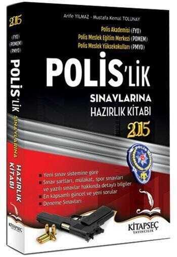 Kitapseç Yayınları - PMYO Polis`lik Sınavlarına Hazırlık Kitabı 2015