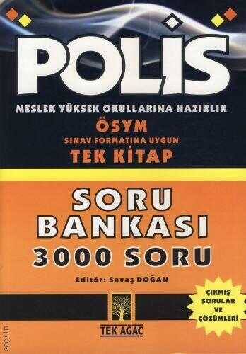 Tek Ağaç Yayınevi Kültür - Polis Meslek Yüksekokullarına Hazırlık Soru Bankası 3000 Soru