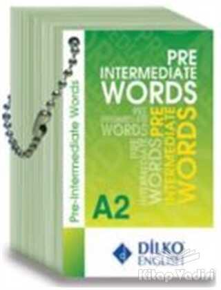Dilko Yayıncılık - Pre Intermediate Words A2 Kelime Kartı