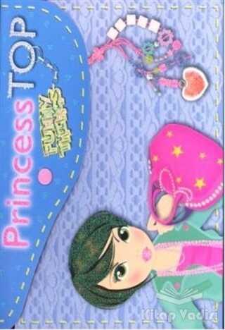 Çiçek Yayıncılık - Princess Top Funny - Things (Mavi)