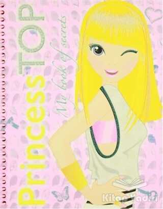 Çiçek Yayıncılık - Princess Top My Book Of Secrets (Pembe)
