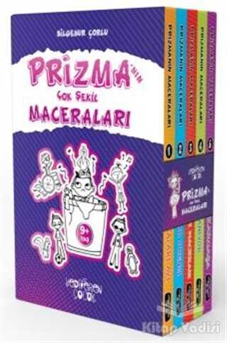 Yediveren Çocuk - Prizma'nın Çok Şekil Maceraları Seti (5 Kitap Takım)