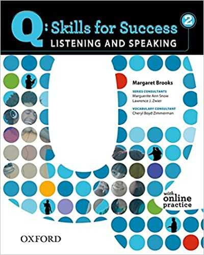 Oxford Unıversıty Press - Q: Skills for Success 2 Listening & Speaking Student Book with Student Access Code Card