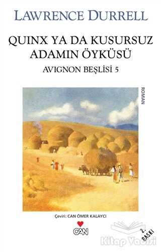 Can Yayınları - Quinx ya da Kusursuz Adamın Öyküsü : Avignon Beşlisi - 5
