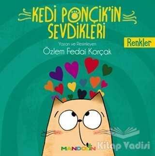 Mandolin Yayınları - Renkler - Kedi Ponçik'in Sevdikleri