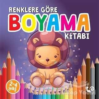 Çikolata Yayınevi - Renklere Göre Boyama Kitabı
