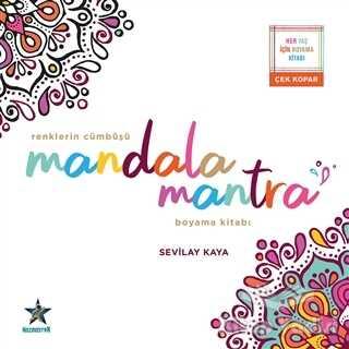 Kozmostar Yayınevi - Renklerin Cümbüşü Mandala Mantra Boyama Kitabı