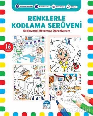 Martı Çocuk Yayınları - Renklerle Kodlama Serüveni 2