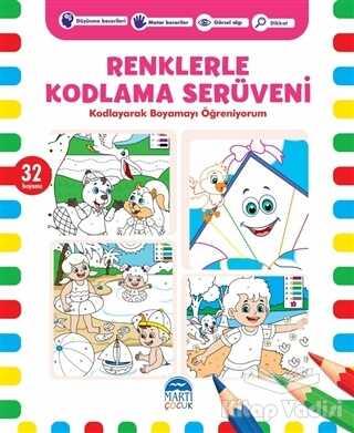 Martı Çocuk Yayınları - Renklerle Kodlama Serüveni 5