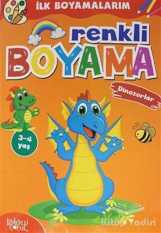 Koloni Çocuk - Renkli Boyama - Dinozorlar