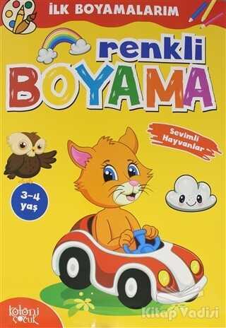 Koloni Çocuk - Renkli Boyama - Sevimli Hayvanlar
