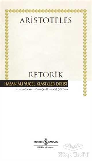 İş Bankası Kültür Yayınları - Retorik (Ciltli)