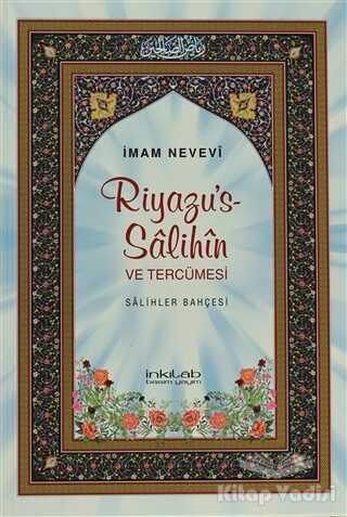 İnkılab Yayınları - Riyazu's-Salihin ve Tercümesi (Büyük Boy)