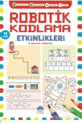 Martı Çocuk Yayınları - Robotik Kodlama Etkinlikleri - 10