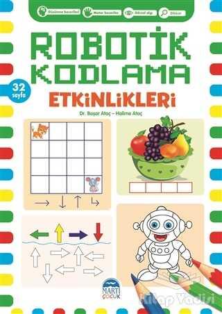 Martı Çocuk Yayınları - Robotik Kodlama Etkinlikleri 13