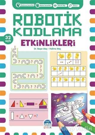 Martı Çocuk Yayınları - Robotik Kodlama Etkinlikleri 18