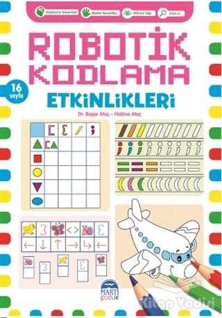 Martı Çocuk Yayınları - Robotik Kodlama Etkinlikleri - 6