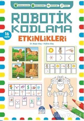 Martı Çocuk Yayınları - Robotik Kodlama Etkinlikleri - 8